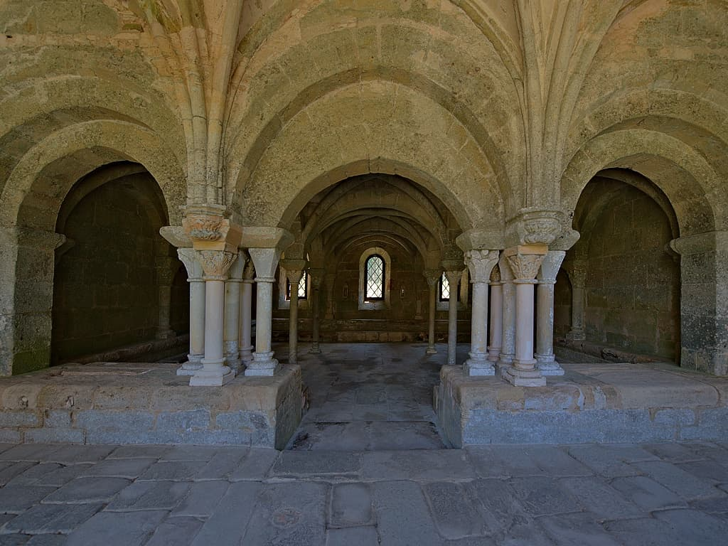 Abbaye de Fontfroide (Aude ; photographie : Philippe Contal, 2014)